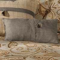 Piedmont Small Taupe Gray Pillow