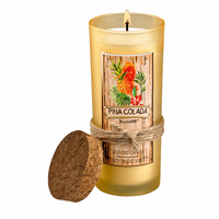 Pina Colada Scent Highball Candle - CLEARANCE