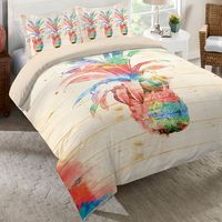 Pineapple Dream Duvet Cover - Queen