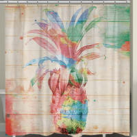 Pineapple Dream Shower Curtain