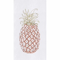 Pineapple Flour Sack Towels - Set of 6