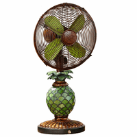 Pineapple Paradise Table Fan and Lamp