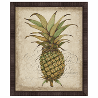 Pineapple Study I Framed Print