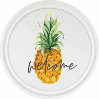Pineapple Welcome Wall Art