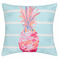 Pink Pineapple HD Indoor/Outdoor Pillow