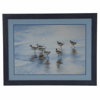 Pipers in the Sand Framed Art