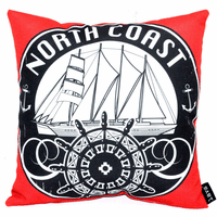 Pirates from the North Indoor/Outdoor Pillow