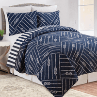 Port Gregory Quilt Set - Full/Queen