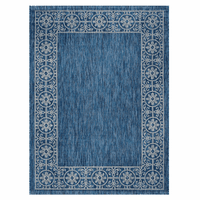 Portico Indigo Indoor/Outdoor Rug Collection