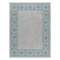 Portico Teal Indoor/Outdoor Rug Collection