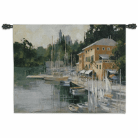 Portofino Heights Wall Tapestry
