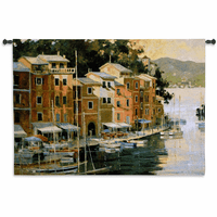 Portofino View Wall Tapestry