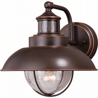 Portside Outdoor Motion Sensor Wall Sconce - Bronze