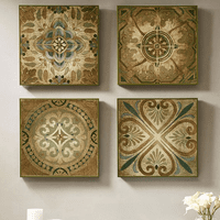 Prairie Sky Tile Wall Art - Set of 4