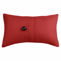 Prescott Red Small Pillow