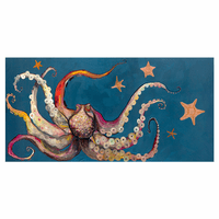 Prismatic Octopus Canvas Art