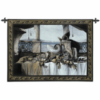 Promessa D'Estate Cotton Wall Tapestry