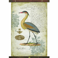 Purple Heron Wall Art