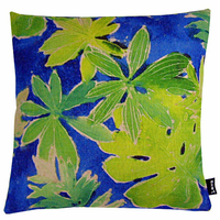Rain Forest Leaves Indoor Pillow