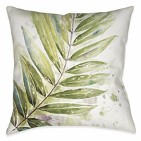 Rain Forest Palms I 18 x 18 Indoor Pillow