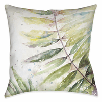 Rain Forest Palms II 18 x 18 Outdoor Pillow