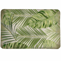 Rain Forest Palms Memory Foam Mat