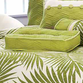 Rain Forest Leaf Boxed Pillow