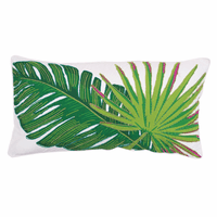 Ravello Leaf Pillow