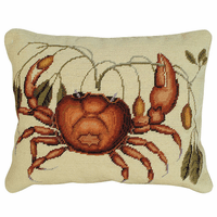 Rectangular Crab Pillow