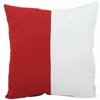 Red and White Flag Indoor/Outdoor Pillow