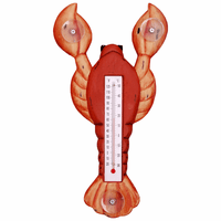 Red Lobster Small Window Thermometer