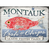 Red Snapper Personalized Signs