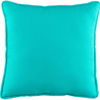 Reef Jubilee Blue Square Pillow
