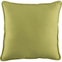 Reef Jubilee Green Square Pillow