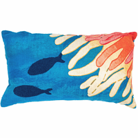 Reef Nirvana Rectangle Indoor/Outdoor Pillow
