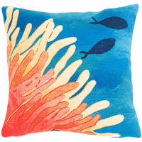 Reef Nirvana Square Indoor/Outdoor Pillow