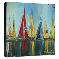Reflections Gallery Wrapped Canvas