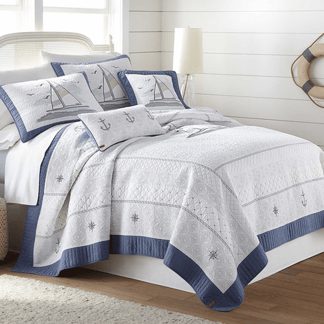 Sail Away Quilt - Twin