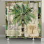 Relax Palm Shower Curtain