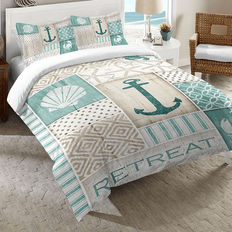 Relaxing Retreat Comforter - Queen