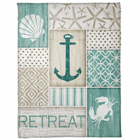 Relaxing Retreat Fleece Blanket