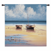 Restful Moorings Wall Tapestry