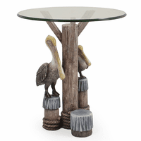 Resting Pelican Outdoor Side Table