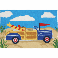 Retro Ride Indoor/Outdoor Rug