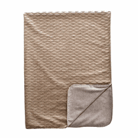 Ripple Dove & Sophia Platinum Throw