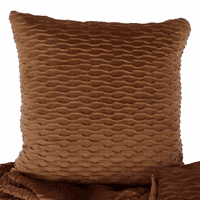 Ripple Hazelnut & Sophia Truffle Accent Pillow