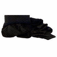 Ripple Onyx & Suave Black Throw