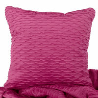 Ripple Orchid & Majesty Orchid Accent Pillow