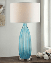 Rippled Sea Breeze Table Lamp