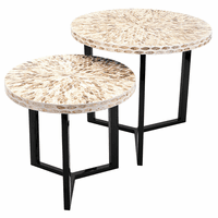 Riviera Accent Tables - Set of 2